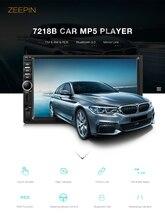 Zeepin Bluetooth Зеркало Ссылка автомобиля mp5 плеер 7 дюймов Сенсорный экран Авто Видео плеер AM, FM RDS автомобиль Радио с сзади вид Камера