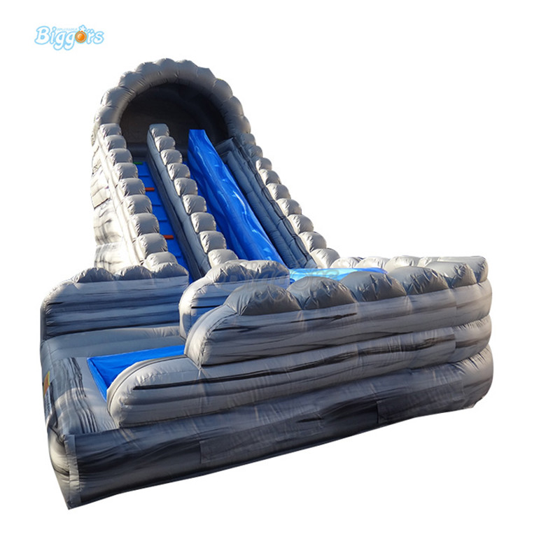 Inflatable water slide inflatable grey bouner slide inflatable water slide w084 3 5 2m inflatable water slide inflatable climbing water slide inflatable floating water slide on sea