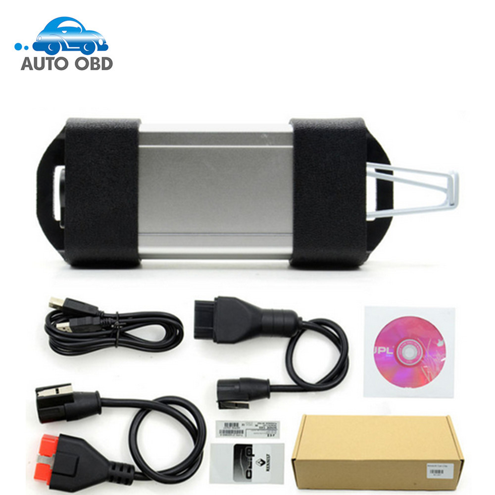 New Arrival V160 Multi-language Renault Can Clip Interface Professional Auto Diagnostic Tool Can Clip Scanner for Renault