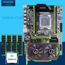Building perfect PC HUANAN X79 motherboard CPU RAM video card GTX750Ti 2G DDR5 Xeon E5 2660 SROKK RAM 16G DDR3 RECC all tested цена