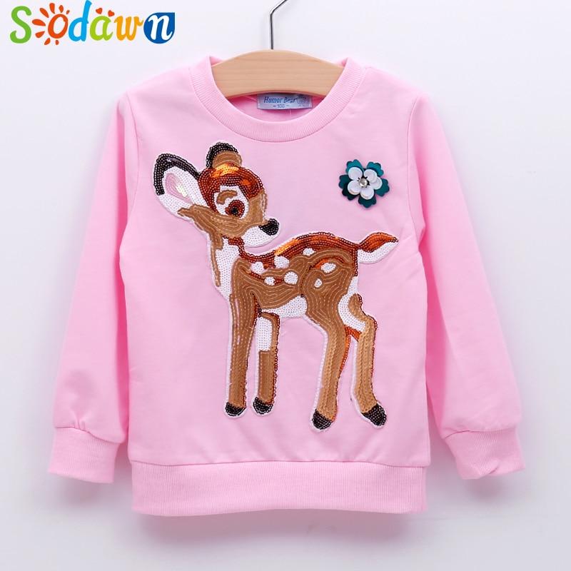 Sodawn Christmas New 2017 autumn boy's t shirt long-sleeved t-shirt printing children's cartoon kids boys child's clothes