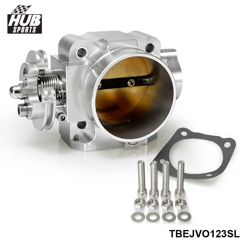 Racing Throttle Body 70MM For Mitsubishi EVO 1 2 3 4 4G63 Turbo 92-95 Intake Manifold HU-TBEJVO123SL engine swap turbo intake manifold for mitsubishi evo 4 9 4g63 high performance polished it5934
