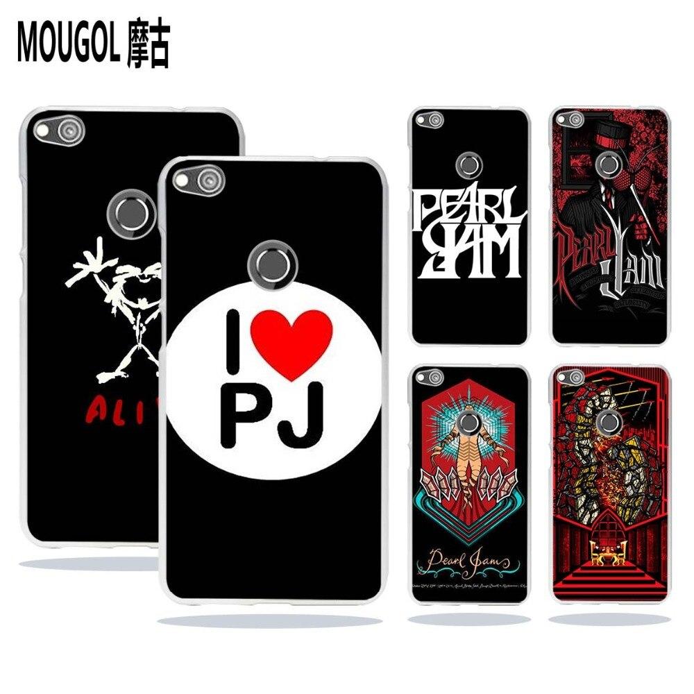 Mougol жемчуг Варенье PJ дизайн прозрачные жесткий чехол для телефона Huawei Honor Коврики 8 P8 p9 P10 Lite 2017 плюс