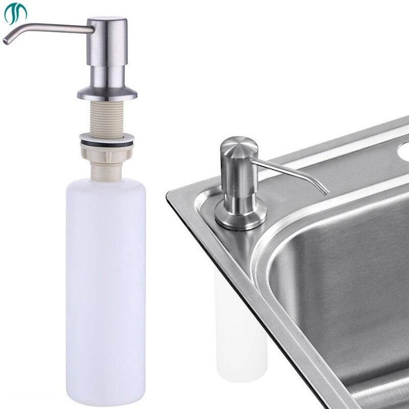 Modun 300ml Kitchen Steel Sink Soap Pump Kitchen Soap Dispenser Sinks  Sanitizer Liquid Soap Dispenser Home Sink Soap Dispenser