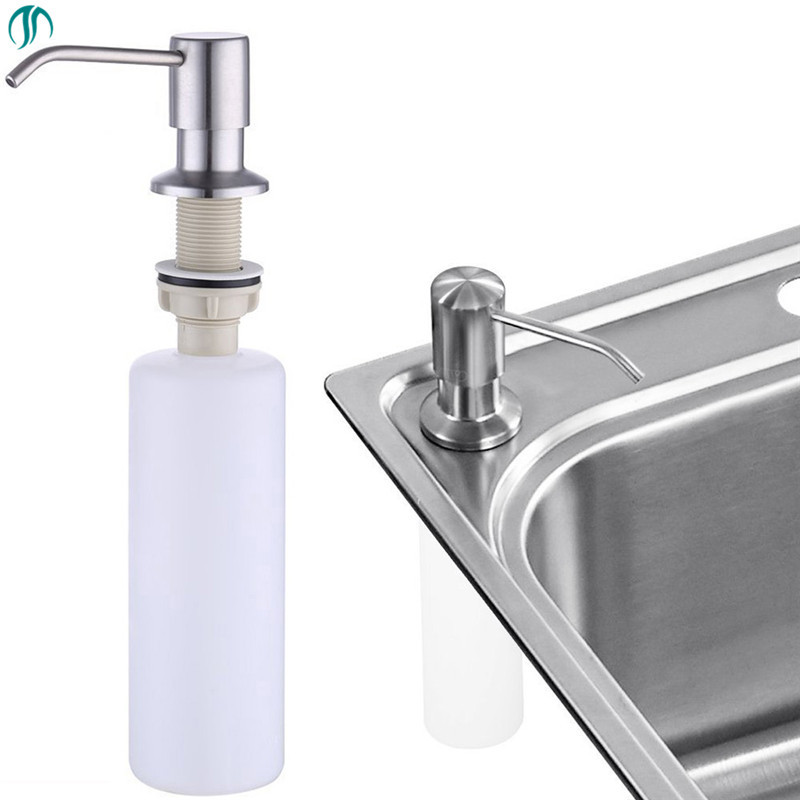 modun 300ml steel sink soap pump kitchen soap dispenser