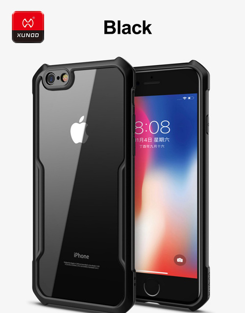 Luxury Ultra thin Transparent Silicone Cover For iPhone 6S 7