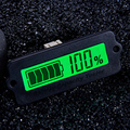 12V LY6W Lead Acid Battery Capacity Indicator LCD Digital Display Meter LiPo Battery Capacity Power Detection Tester Voltmeter