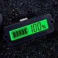 Indicador de Capacidade Da Bateria de Chumbo Ácido 12 V LY6W LCD Display Digital Medidor de Bateria LiPo Capacidade De Detecção De Energia Tester Voltímetro