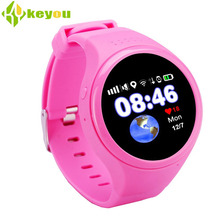 2017 New Baby smartwatch Children's watches GPS tracker smart watch Pedometer SOS emergency call Round phone with a sim card(China)