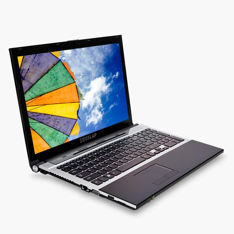 15.6inch Intel Dual Core I7 4GB RAM 512GB SSD 1920x1080P WIFI Bluetooth DVD Rom Windows 10 Notebook PC Computer Laptop