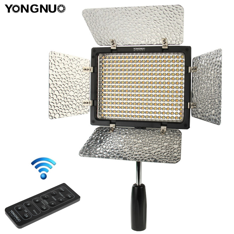 Yongnuo YN300 II Flash Light For Canon Nikon DLSR Camera Camcorder LED Video Light Lighting Remote Control Photo Lamp loreada carburetor assy a910 for chevrotlet gm350 engine high quality warranty 30000 miles fast shipping