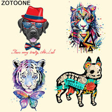 ZOTOONE Mini Size Patches A-level Washable Parches Bordados Heat Transfer Applique Iron on for Clothes Christmas Gifts F