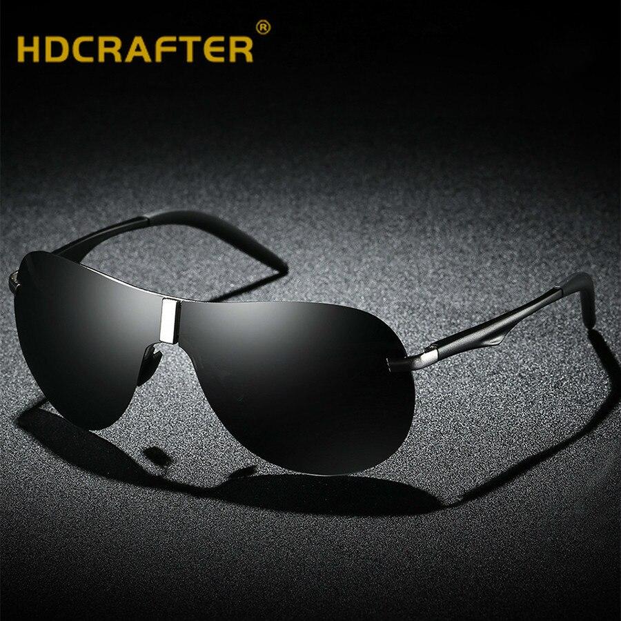 033fb59460b Óculos de sol dos homens Polarizados Condução óculos de sol de Marca de luxo  Designer óculos