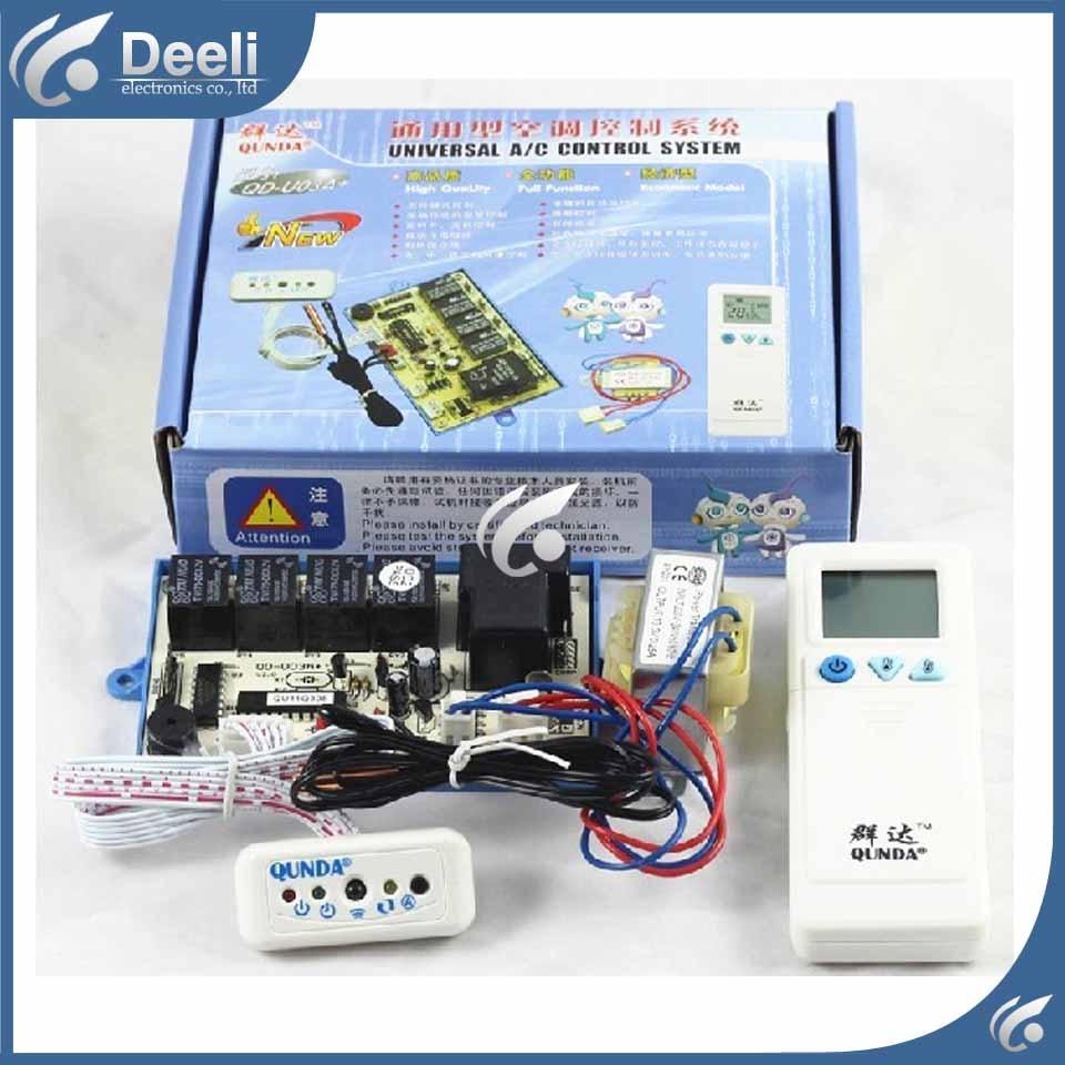 2 шт./лот Новое хорошем рабочем для кондиционирования воздуха QD-U03A + пульт управления компьютером