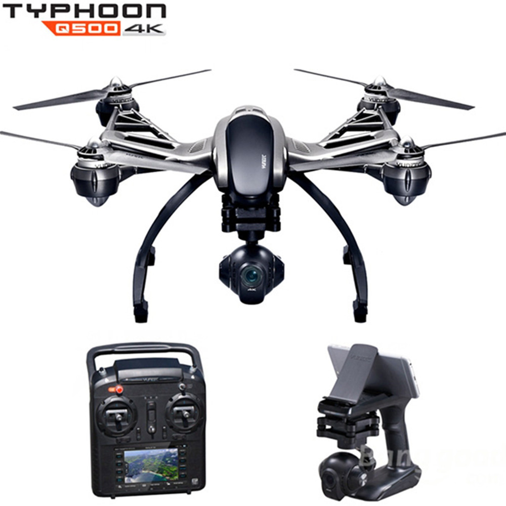 Yuneec Typhoon Q500 4k FPV 5.8G 10CH RC Quadcopter with 4K Camera / CGO3 3 Axis Gimbal/Watch Me and Follow Me Function yuneec q500 typhoon quadcopter handheld cgo steadygrip gimbal black