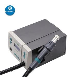 Image 3 - 110V 220V 900W PHONEFIX 861DW dijital sıcak hava yeniden işleme istasyonu kurşunsuz BGA lehimleme istasyonu cep telefonu kaynak onarım aracı