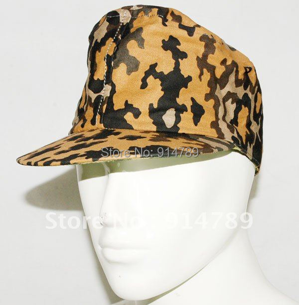 WWII GERMAN OAK REVERSIBLE CAP SIZE M -31459