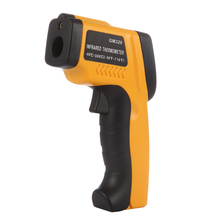 Buy online LCD Display Digital Infrared Thermometer Professional Non-contact Temperature Tester IR Temperature Laser Gun