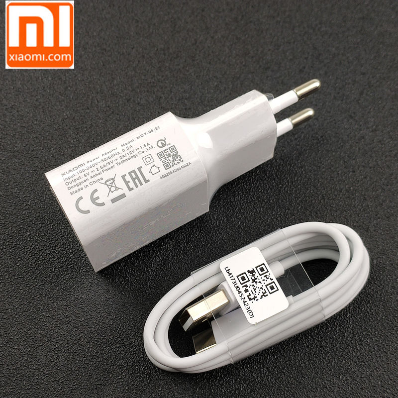 Original Xiaomi Mi 9 Fast Charger Qc 4.0 27w Usb Wall Quick Charge Adapter Usb 3.1 Data Cable For Mi9 Se Mi 8 7 F1 Mix 2 2s 3 Mobile Phone Accessories Cellphones & Telecommunications