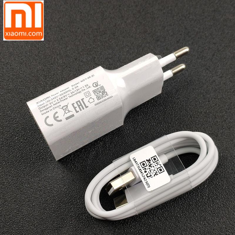 Original EU Xiao mi mi 9 chargeur rapide Charge rapide QC 3.0 adaptateur secteur pour mi 9 se plus a2 a1 8 6 max mi x 2 2s 3 redmi note 7 pro