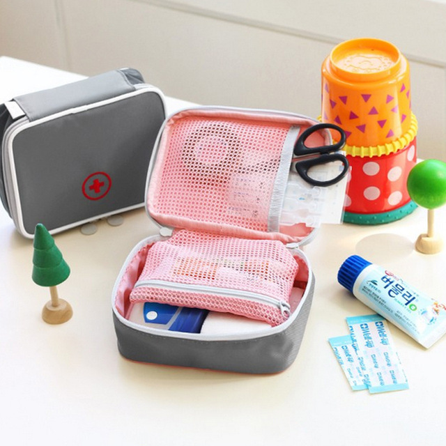 New Arrivals Travel Storage Heart First aid kit first-aid Oxford cloth Medkit Bags accessories Travel Organizer