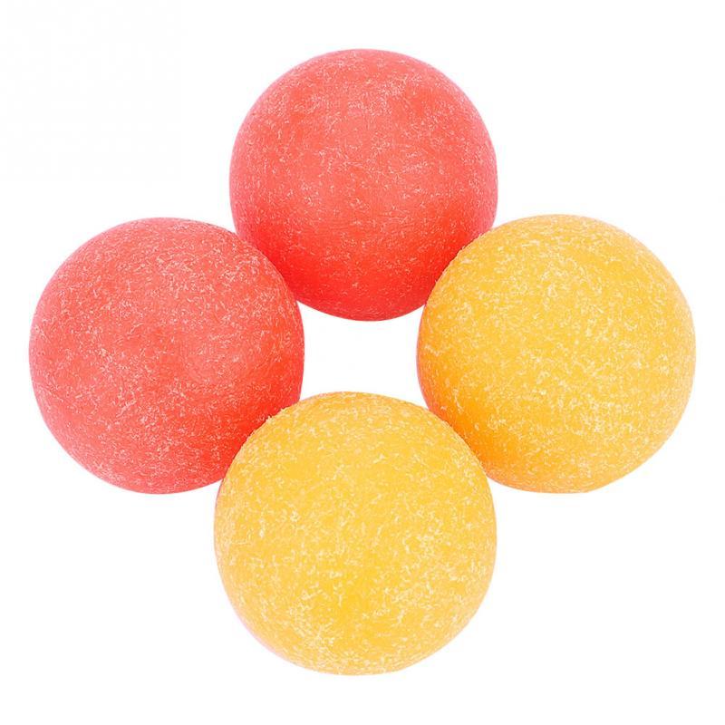 4pcs Mini Soccer Ball Matte Roughened Surface Mini Table Soccer Footballs Balls Tabletop Game Ball 36mm