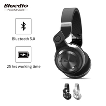 Bluedio T2 Bluetooth 5.0 Wireless Foldable Headphones With Mircorphone 3d Sound Original Headset For Cell Phone Xiaomi Earphone