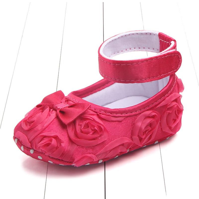 Todder Newborn Infants Baby Girl Soft Crib Shoes Moccasin Prewalker Sole Shoes