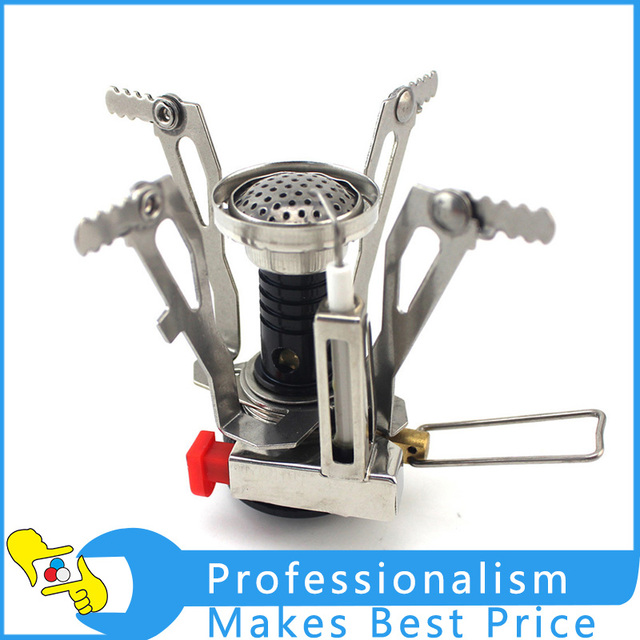 Outdoor Camping One-Piece Stainless Steel Gas Stove Burner,Wholesale,BRS-5 Light
