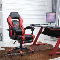 Samincom Executive вращающееся кресло с подъемником Эргономичный с высокой спинкой Большая спинка Регулируемая игровая красная черный офисный сту