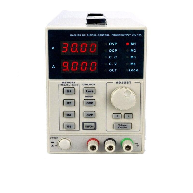 Haute précision Variable réglable 10A 30 V DC alimentation linéaire numérique de haute qualité régulée de qualité de laboratoire compteur d'alimentation