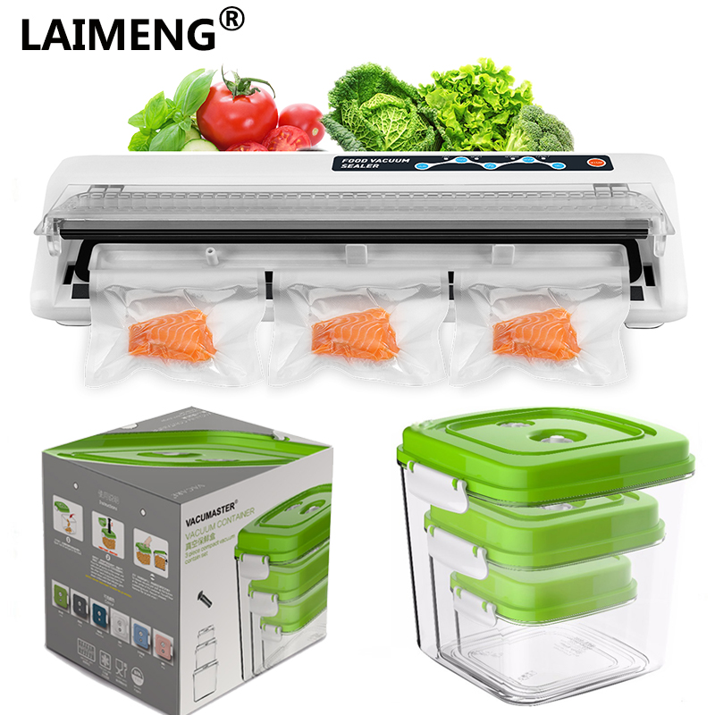 Laimeng Food Vacuum Sealer Packing Machine 220V 110V Optional Best Vacuum Packer With AS Vacuum Containers For Kitchen S206