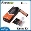 100% Original Geekvape Karma Kit RDTA RDA Mecánica Mod Kit 2-en-1 de diseño 5 ML y RDA RDTA Atomizador 2 ML tanque