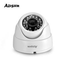 AZISHN เลนส์ 2.8 มม.กล้องโดม IP 1080P 960P 720P ipcam ในร่ม ONVIF Day/Night บ้านกล้องวงจรปิด ONVIF การเฝ้าระวังกล้อง