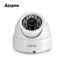 Azishn 2.8 ミリメートルレンズドーム ip カメラ 1080 p 960 1080p 720 1080p セキュリティ屋内 ipcam onvif デイ/ナイト表示ホーム cctv onvif 監視カメラ