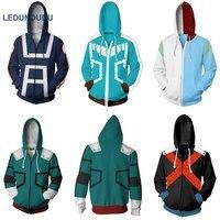 My Hero Academia Coat Boku no Hero Academia Izuku Midoriya Zipper Jacket Cosplay Costumes Unisex Uniform Plus size