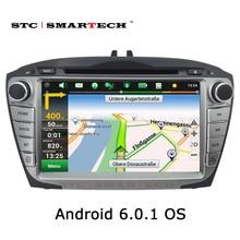 2 din Android 6.0 OS GPS Del Coche Reproductor de DVD de navegación para Hyundai iX35 Tucson 2009 2010 2011 2012 2013 2014 2015 Soporte DVR OBD 3G