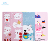 For IPad Air 2 1 PU Leather Case Cover 9 7 Colorful Protective Stand For Apple