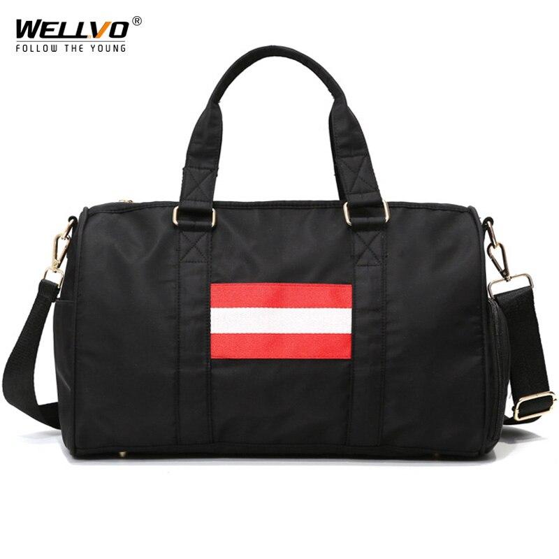 High Quality Men Large Travel Bags Nylon Travel Duffle Women Travel Bags Hand Luggage Female Crossbody Weekend Bags XA57ZC