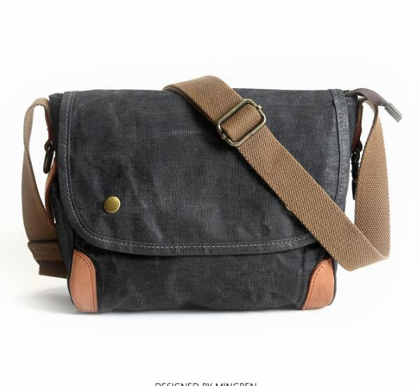 Original retro mens canvas Messenger bag Europe and the wind casual mens bag travel youth trend shoulder bag DO660Original retro mens canvas Messenger bag Europe and the wind casual mens bag travel youth trend shoulder bag DO660