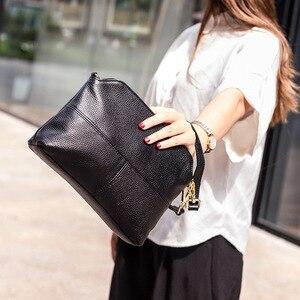 Image 5 - Роскошные сумки клатчи из натуральной кожи, женские сумки, модные сумки через плечо для женщин, сумка мессенджер, сумка тоут, кошелек