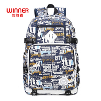 WINNER New Preppy Style Women Letter Printing Canvas Backpacks High Quality School Bags Rucksack Fashion Travel Bags