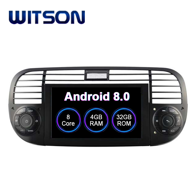 WITSON S200 Android 8.0 Octa- core (Eight-core) CAR DVD PLAYER GPS For FIAT 500  audio system car audio gps dvd for FIAT 500