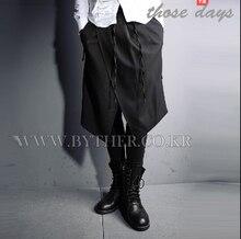 Мужчины в одежда костюмы бар мужчины брюки свободного покроя сапоги брюки брюки / M-XL