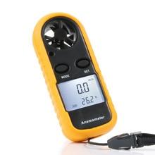 Цифровой анемометр 0~ 30 м/с измеритель скорости ветра-10~ 45C тестер температуры воздуха Ветер скорость весы с ЖК-дисплей подсветки
