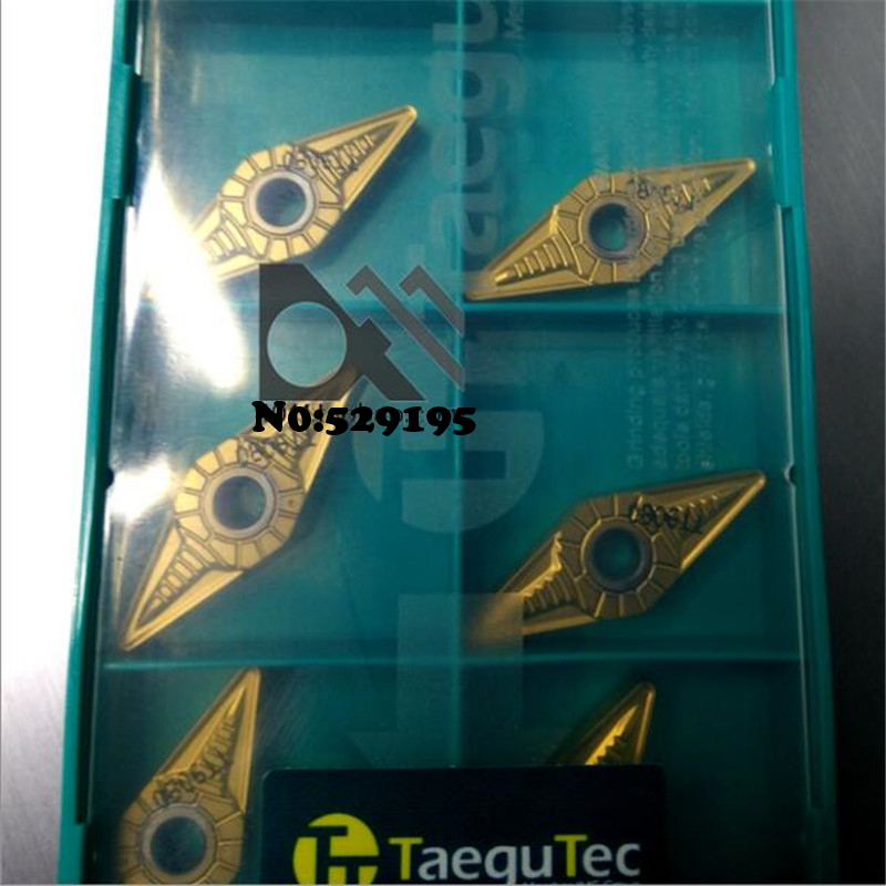 VNMG160408 EM TT9080 10pcs Genuine Original Taegutec Cnc Lathe Blade Outer Circle Inner Hole