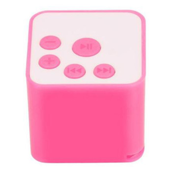 A small car ornament Square Mini USB MP3 Player Portable mp3 Music Player Support Micro SD TF Card Long Time Play image