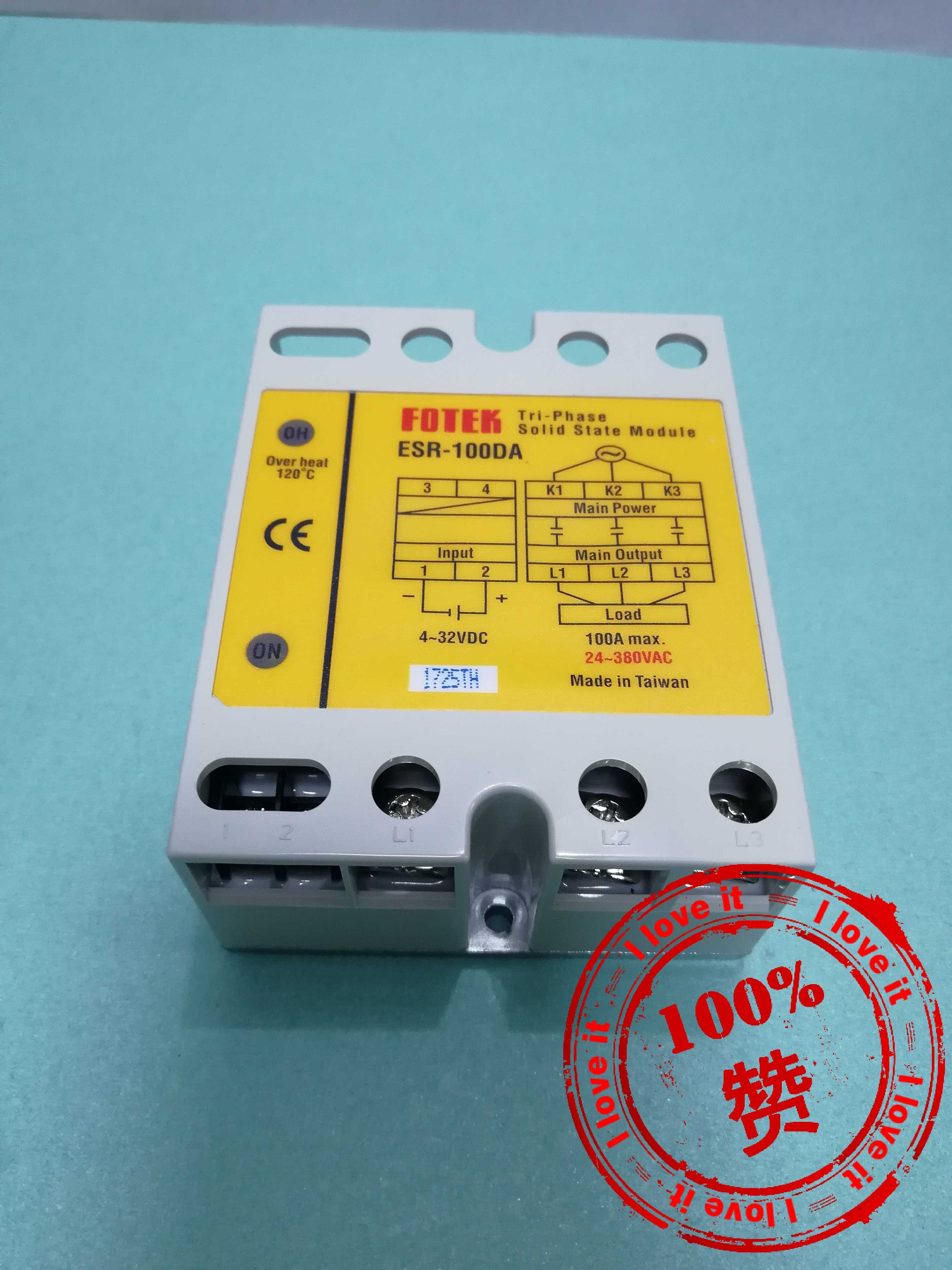 Three-phase High Power Solid State Module ESR-100DA Solid State Relay