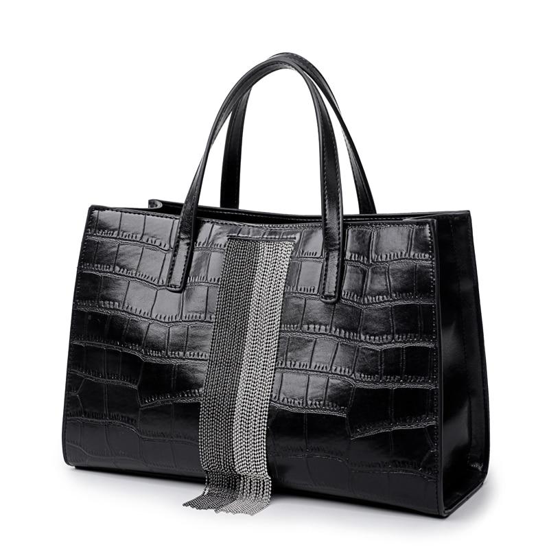 2019 New Fashion Shoulder Bags Women Designer Leather Messenger Bag Female Vintage Crossbody Bags Black Woman
