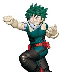 Image 3 - Tronzo My Hero Academia Action Figure Boku no Hero Academia Midoriya Izuku Bakugou Katsuki Todoroki Shoto PVC Model Doll Toys